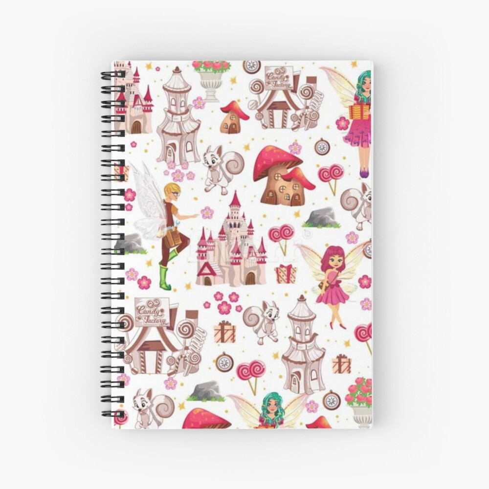 Tommy Tinker's Magical Fairy Kingdom™  Spiral Notebook