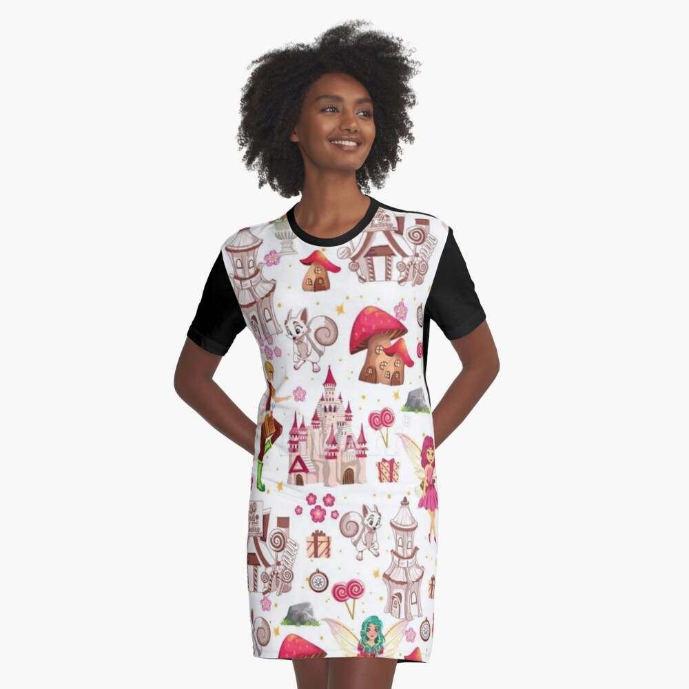 Tommy Tinker's Magical Fairy Kingdom™  Graphic T-Shirt Dress