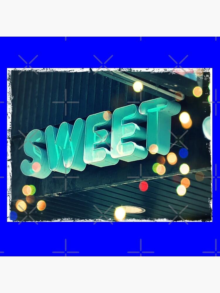Sweet leggings, Sweet greeting card, Sweet pin, Sweet mask, Sweet socks  by PicsByMi