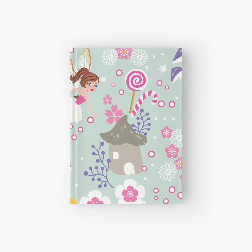 Green Fairy Helpers In Tommy Tinker's Village™ Hardcover Journal