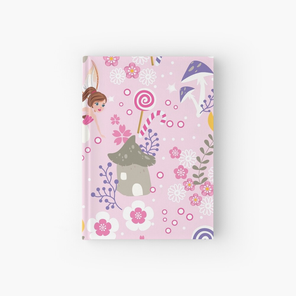 The Pink Fairy Helpers In Tommy Tinker's Village™ Hardcover Journal