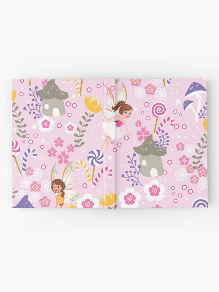 Alternate view of The Pink Fairy Helpers In Tommy Tinker's Village™ Hardcover Journal