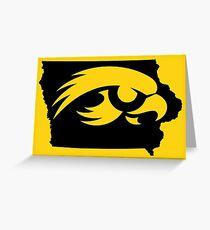 Iowa Hawkeyes Greeting Card