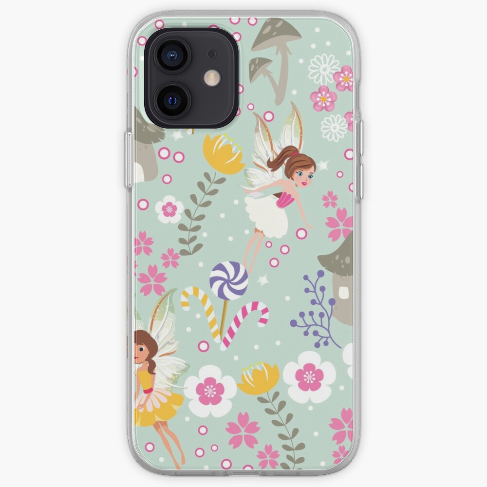 Green Fairy Helpers In Tommy Tinker's Village™ iPhone Case & Cover