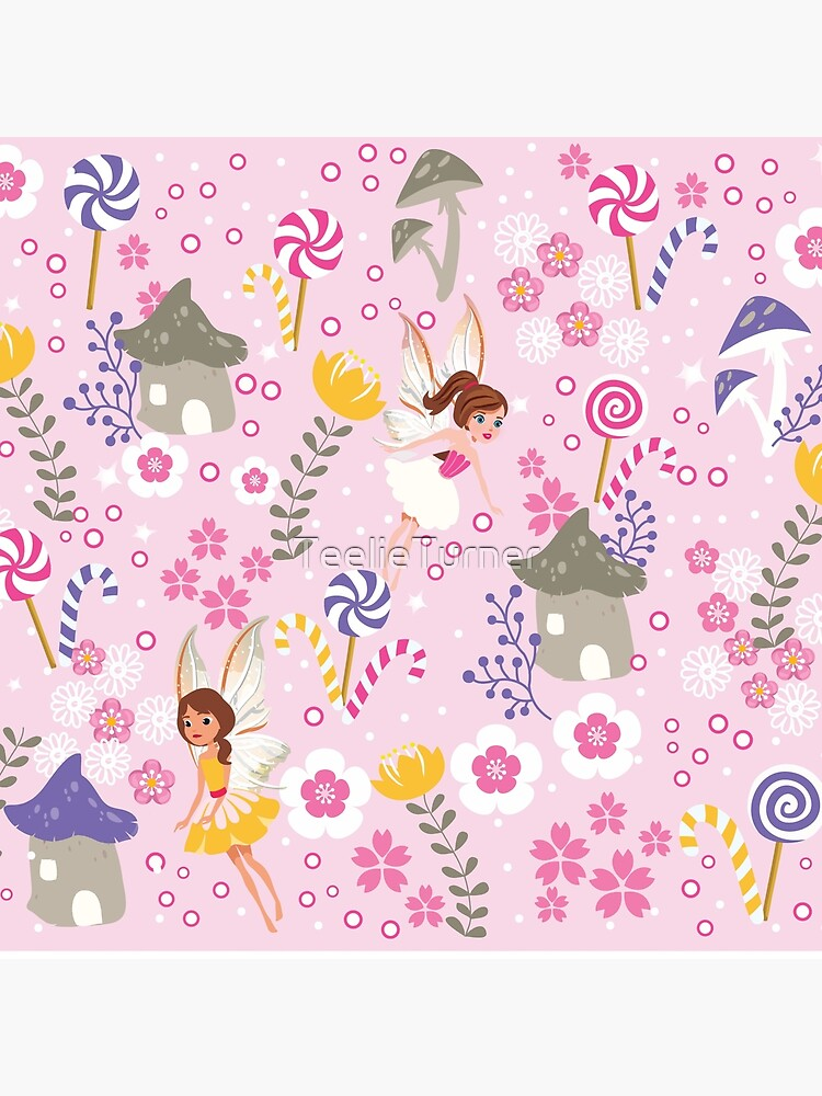 The Pink Fairy Helpers In Tommy Tinker's Village™ by TeelieTurner