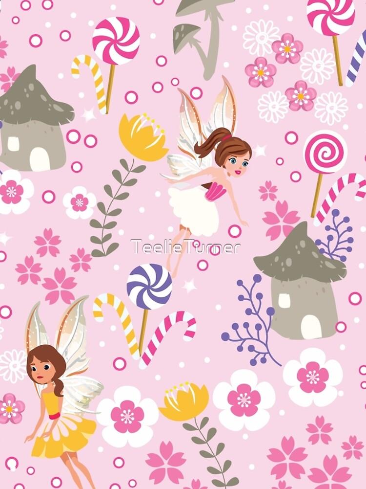 The Pink Fairy Helpers In Tommy Tinker's Village™ by TeelieTurner