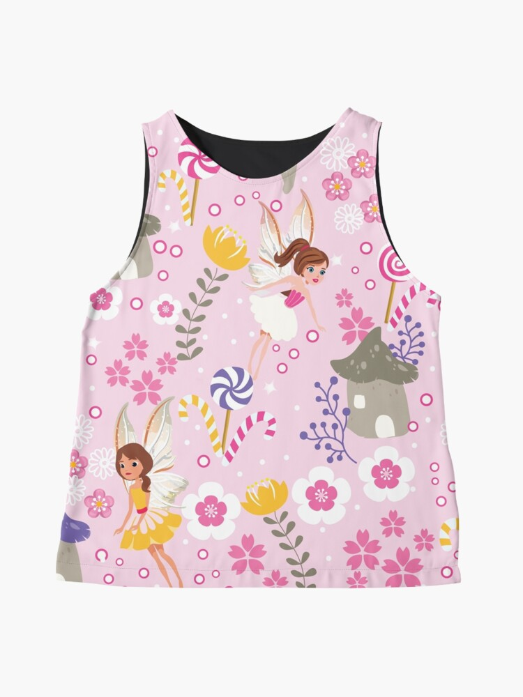 Alternate view of The Pink Fairy Helpers In Tommy Tinker's Village™ Sleeveless Top