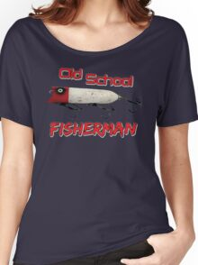 Old School Fisherman T-shirt Women's Relaxed Fit T-Shirt