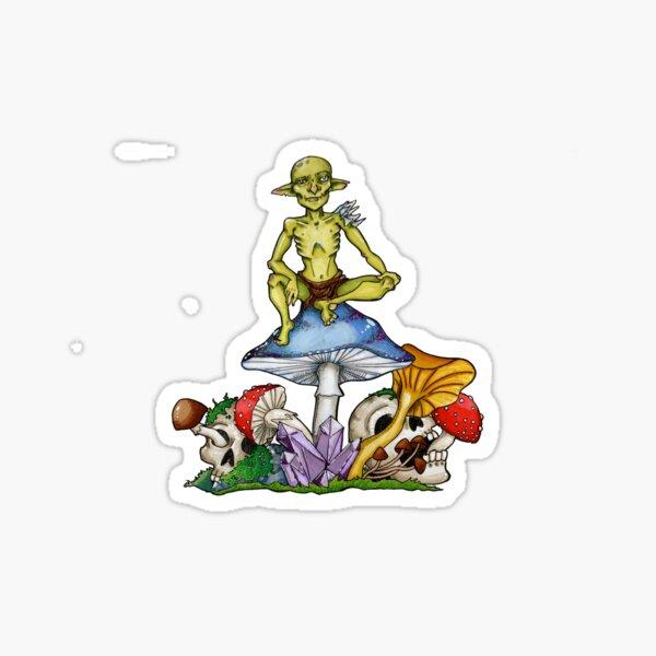 Goblin Spore Druid Sticker