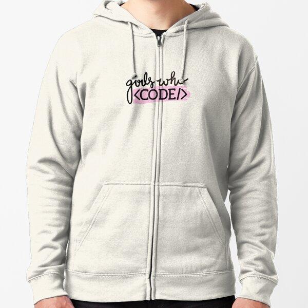 Girls Who Code Zipped Hoodie