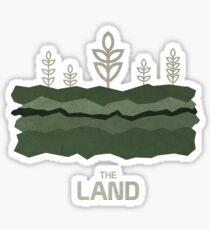 The Land Sticker