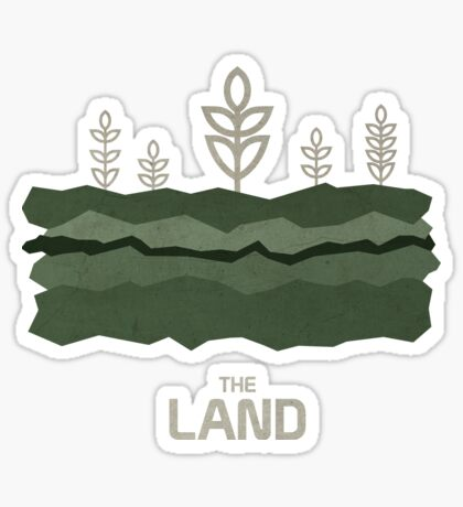 The Land Sticker