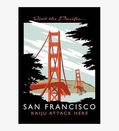 Visit The Pacific Print Photographic Print