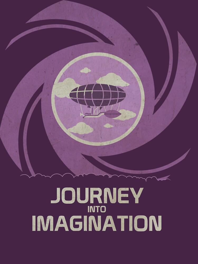 TShirtGifter presents: Imagination | Unisex T-Shirt