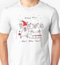Happy New! Unisex T-Shirt