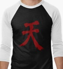 Street Fighter Akuma  Men's Baseball ¾ T-Shirt