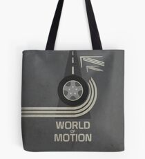 World of Motion Tote Bag
