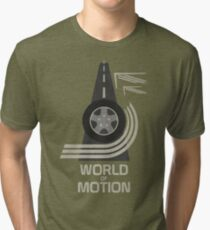 World of Motion Tri-blend T-Shirt
