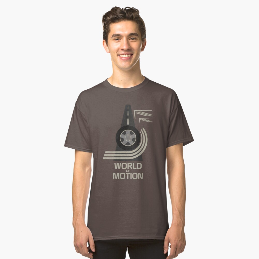 World of Motion Classic T-Shirt Front