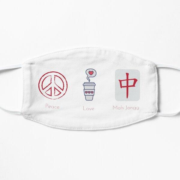 Peace Love Mah Jongg Mask