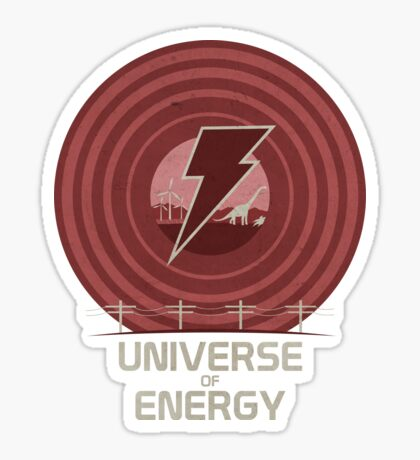 Universe of Energy Sticker