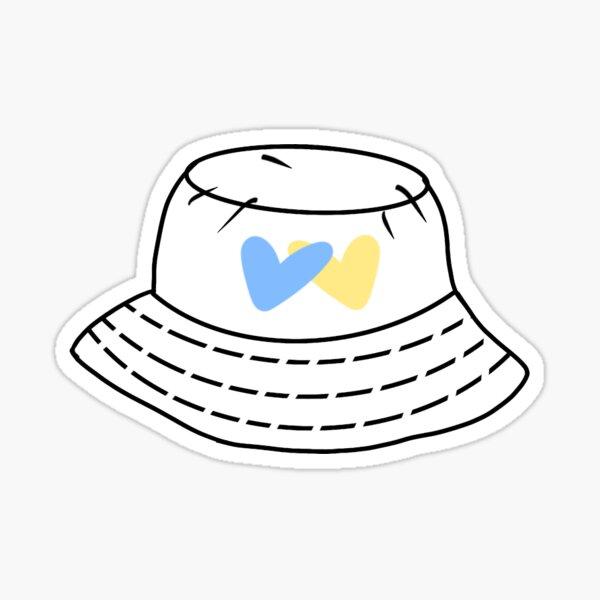 UCLA Bucket Hat Sticker