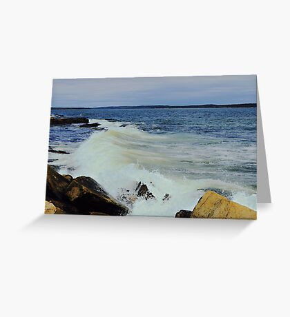 Downeast Greeting Card