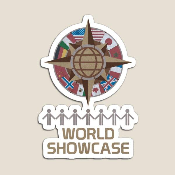World Showcase Magnet