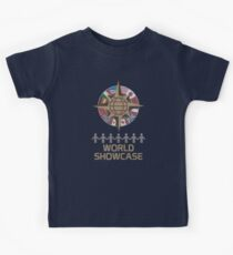 World Showcase Kids Tee