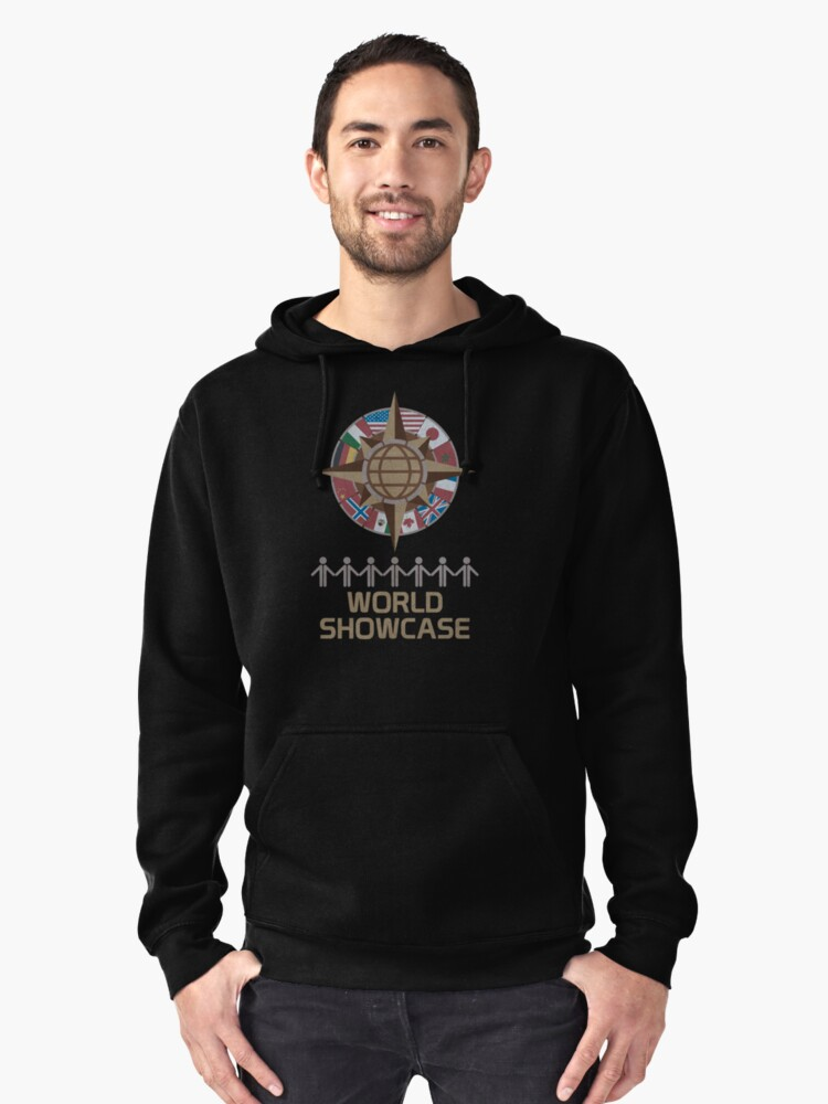 World Showcase Pullover Hoodie Front