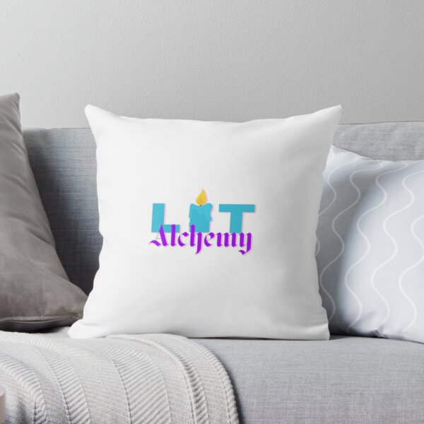 Literary Alchemy Signature Throw Pillow