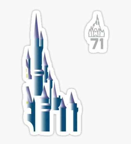 1971 - Magic Kingdom Sticker