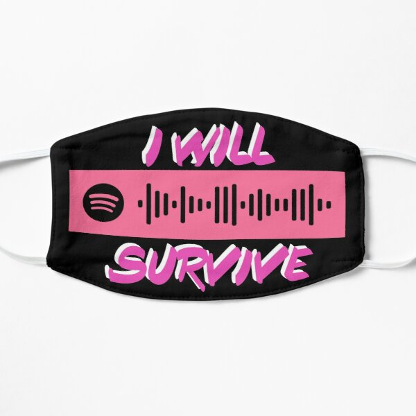 I will Survive Spotify Codes Mask