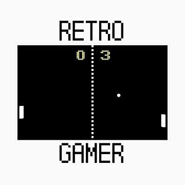 RETRO GAMER - Pong by esemyu