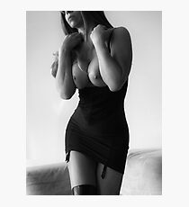 Topless Photographic Print