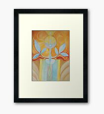 GODDESS FEEDING THE WORLD Framed Print