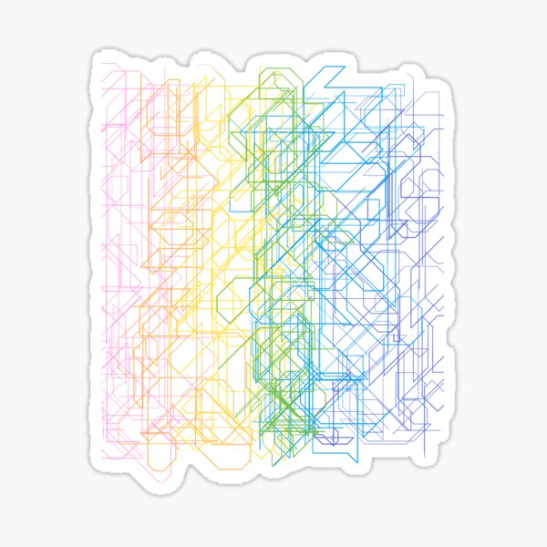 Cyber spaghetti  Sticker