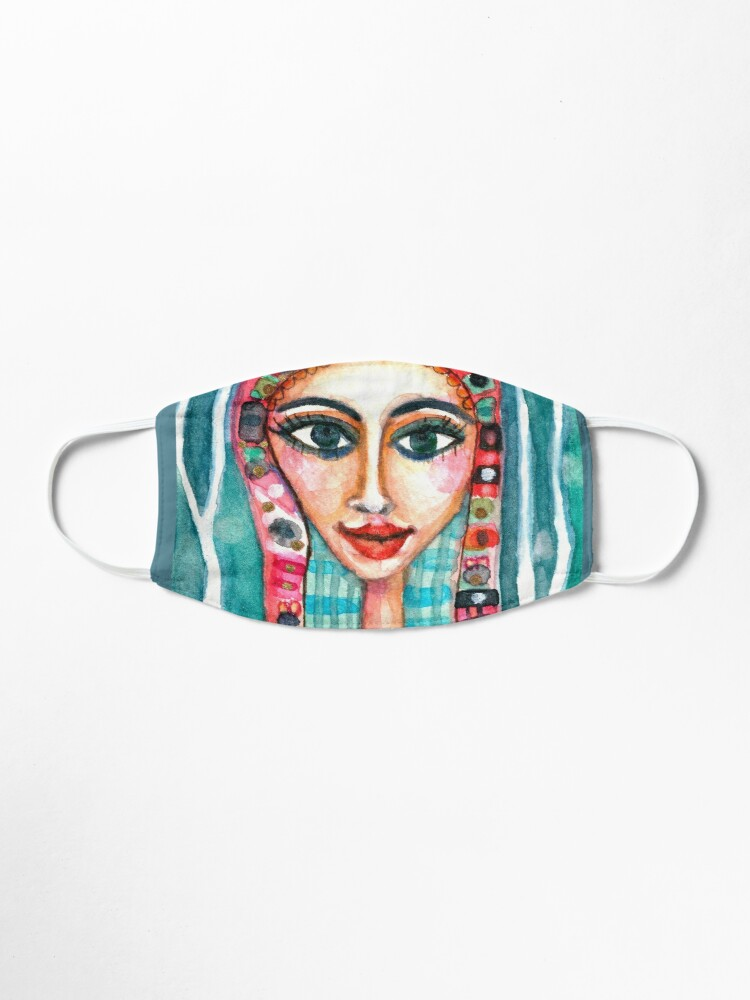 Alternate view of Deco Girl Mask