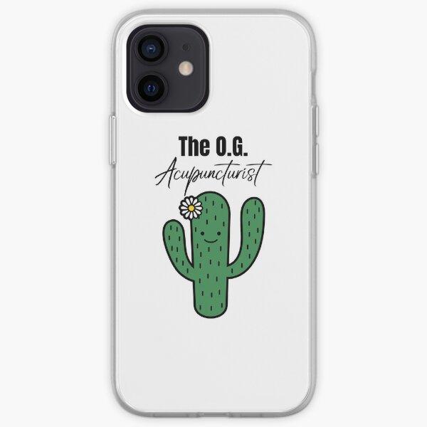The O.G. Acupuncturist, Cute Cactus iPhone Soft Case