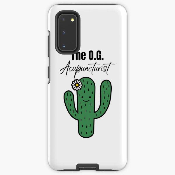The O.G. Acupuncturist, Cute Cactus Samsung Galaxy Tough Case
