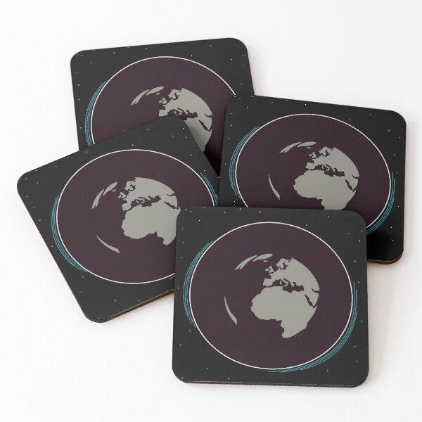 Black Hole Coasters (Set of 4)