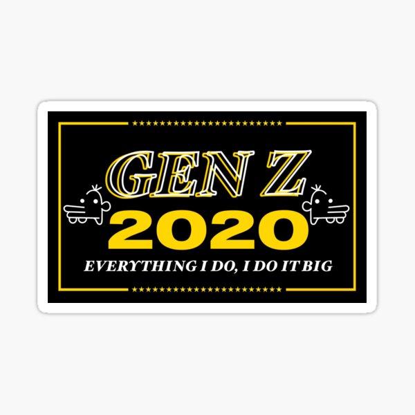 Gen Z 2020 The Manny Edition Sticker