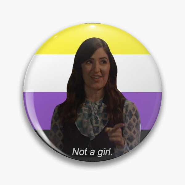 Not a girl by Janet | The Good Place Pin