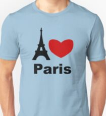 I Heart Paris Unisex T-Shirt