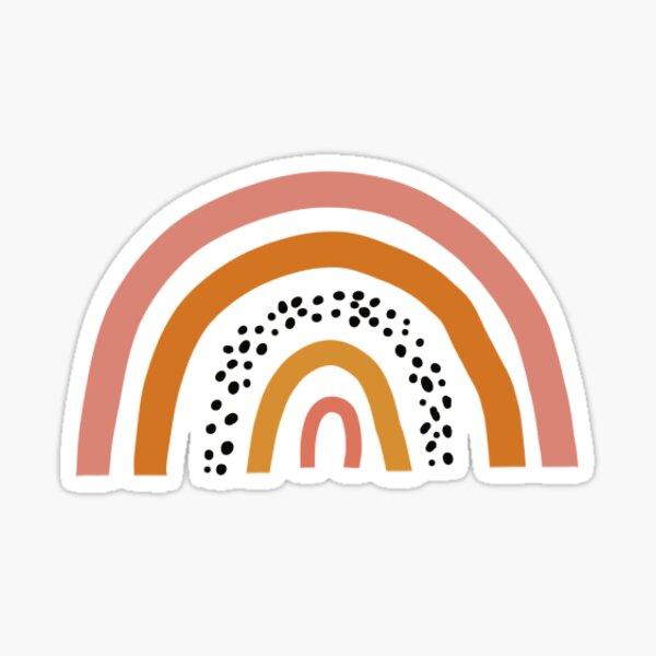 Boho Rainbow Sticker