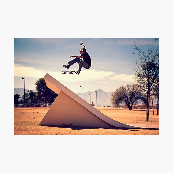 Ray Barbee - 360 Flip Photographic Print