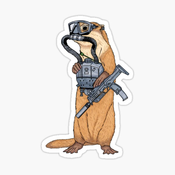Otter Ops Sticker