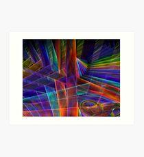 Rearrange the Rainbow Art Print
