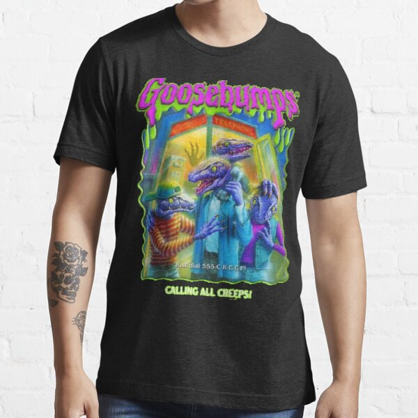 R.L. Stine Goosebumps Nightmare Halloween Calling All Creeps Essential T-Shirt