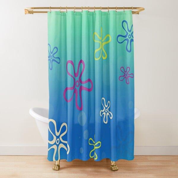 spongebob square pants Shower Curtain
